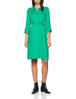 Mama Licious Mamalicious Women's Mlmercy L/s Woven Shirt Abk Dress
