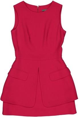 Alexander McQueen \N Red Wool Dresses