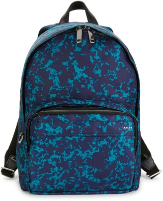 Bally Wolfson Printed Backpack