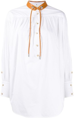 Sportmax Garbo cotton long sleeve shirt