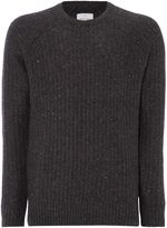 Peter Werth Oregon Knitted Wool Mix Crew Neck
