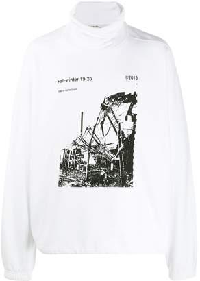 Off-White ruined factory sweatshirt