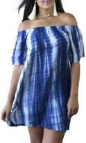 Minx Blue Tiedye Dress