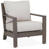 One Kings Lane Laguna Club Chair - Canvas Sunbrella - frame, driftwood; upholstery, canvas