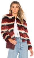 Majorelle Luka Faux Fur Coat