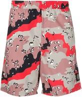 Stone Island abstract print swim shorts