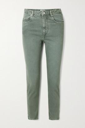 Etoile Isabel Marant Neac Cropped High-rise Slim-leg Jeans