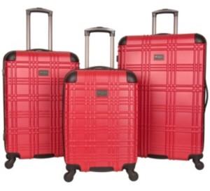 Ben Sherman Nottingham 3-Pc. Hardside Luggage Set