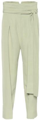 Petar Petrov Hallet adjustable linen-blend pants