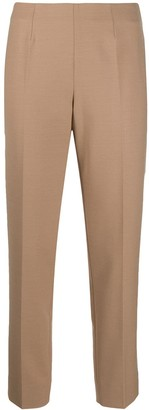 Piazza Sempione Mid-Rise Slim-Fit Trousers