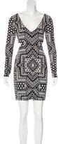 Mara Hoffman Abstract Print Knit Dress