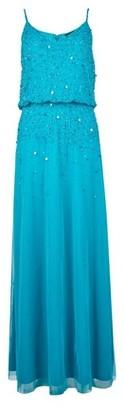 Dorothy Perkins Womens Showcase Teal 'Pippa' Maxi Dress