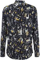 Dolce & Gabbana musical print shirt - men - Cotton - 39