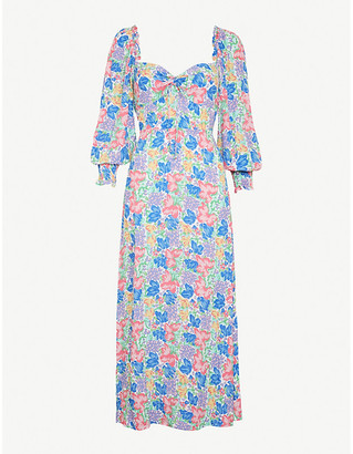 Faithfull The Brand Mathilde floral-print rayon midi dress