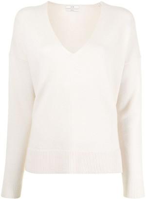 Co V-neck drop-shoulder sweater