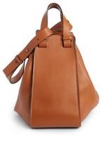 Loewe Medium Hammock Calfskin Leather Shoulder Bag - White