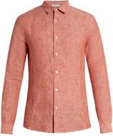 Orlebar Brown Morton lightweight-linen shirt