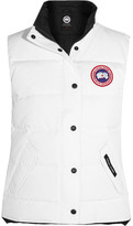 Canada Goose Freestyle Quilted Shell Down Gilet - White