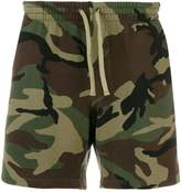 Faith Connexion camouflage print shorts