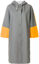 Marni x Stutterheim raincoat - women - Cotton/Polyester/PVC - S