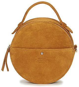 Petite Mendigote EMY women's Shoulder Bag in Beige