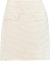 M Missoni Metallic cotton-blend mini skirt