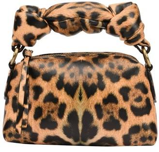 Dries Van Noten Leopard printed pouch