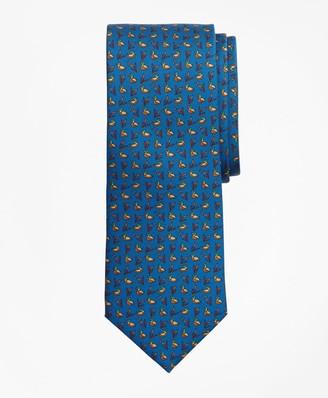 Brooks Brothers Duck Print Tie
