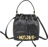 Moschino Medium Lettering Bucket bag