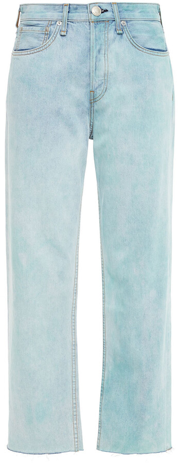 Thumbnail for your product : Rag & Bone High-rise Straight-leg Jeans