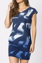 Skunkfunk Blue Shift Dress