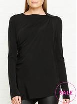Needle & Thread Draped Jersey Top