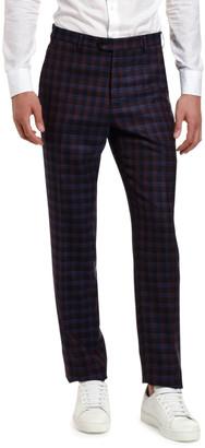 Etro Men's Plaid Wool Suit Separate Trousers