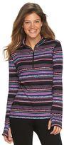 Chaps Women's Printed Half-Zip Pullover