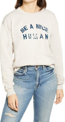 Sub Urban Riot Be A Nice Human Crewneck Sweatshirt