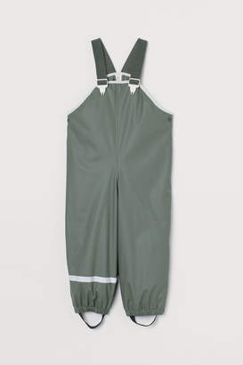 H&M Fleece-lined rain trousers