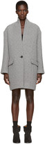 Etoile Isabel Marant Grey Edilon Coat