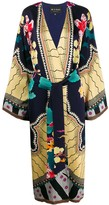Etro loose-fit belted kimono