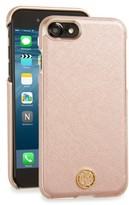 Tory Burch Robinson Iphone 7 Case - Metallic