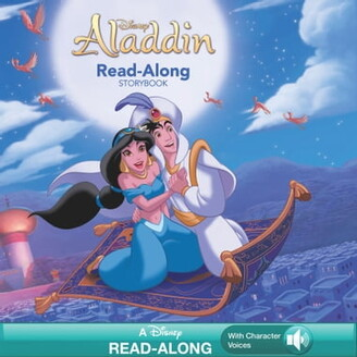 Disney Books Aladdin Read-Along Storybook