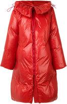 MM6 MAISON MARGIELA long padded coat