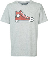 Mostly Heard Rarely Seen Red Chucks T-shirt
