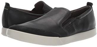 Ecco Collin 2.0 Slip-On (Black/Black) Men's Shoes