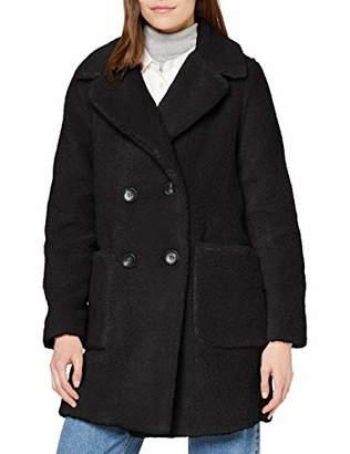New Look Women's Op Aw19 Bella Li Borg Coat Jacket