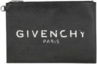 Givenchy Paris Vintage Logo Medium Pouch
