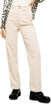 Topshop Corduroy Parallel Pants