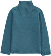 Bonton Zipped-Rollneck Alpaca Wool Jumper
