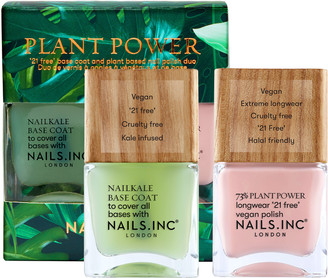 Nails Inc Plant Power Nail Polish Duo