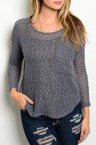 Adore Clothes & More Gray Sweater