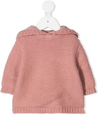 Bonpoint Knitted Hoodie Top